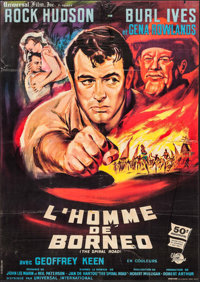 """The Spiral Road & Other Lot (Universal International, 1962). French Grande (43.75"""" X 61.5"""") &..."""
