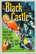 "Movie Posters:Mystery, The Black Castle (Universal International, 1952). One Sheet (27"" X41""). Mystery.. ..."