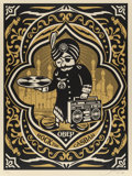 Prints:Contemporary, Shepard Fairey (b. 1970). Rock the Casbah, 2008. Screenprintin colors. 24 x 18 inches (61.0 x 45.7 cm) (sheet). Ed. 107...
