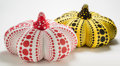 Other:Contemporary, Yayoi Kusama (b. 1929). Plush Pumpkins (Red and Yellow), twoworks. Plush, each. 15 x 21-1/2 inches (38.1 x 54.6 cm) (ea...(Total: 2 Items)