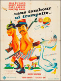 """Movie Posters:Foreign, Without Trumpet or Drum & Other Lot (UFA, 1959). French Grande (47"""" X 62"""") & French Affiche (23.5"""" X 31.5""""). Foreign.. ... (Total: 2 Items)"""