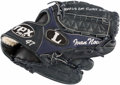 Baseball Collectibles:Others, 2011 Ivan Nova Signed Game Used Glove - Rookie Season. ...