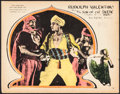"Movie Posters:Adventure, The Son of the Sheik (United Artists, 1926). Lobby Card (11"" X 14""). Adventure.. ..."
