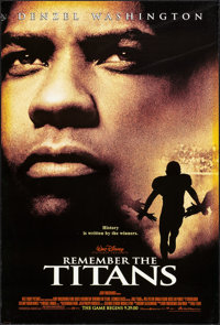 """Remember The Titans & Others Lot (Buena Vista, 2000). One Sheets (6) (27"""" X 40"""") DS Advance. Drama. ... (T..."""