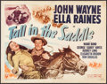 """Movie Posters:Western, Tall in the Saddle (RKO, 1944). Half Sheet (22"""" X 28""""). Western.. ..."""