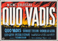 "Movie Posters:Historical Drama, Quo Vadis (MGM, 1951). British Quad (30"" X 40""). Historical Drama....."