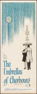 """Movie Posters:Foreign, The Umbrellas of Cherbourg (American International, 1965). Insert (14"""" X 36""""). Foreign.. ..."""