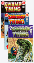 Bronze Age (1970-1979):Horror, Swamp Thing Group of 44 (DC, 1971-78) Condition: Average VF....(Total: 44 Comic Books)