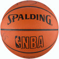 Basketball Collectibles:Balls, 1989-90 Detroit Pistons Multi-Signed Basketball....