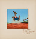Animation Art:Production Cel, Song of the South Br'er Rabbit Production Cel with WaltDisney Signature (Walt Disney, 1946)....