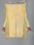 American Indian Art:Beadwork and Quillwork, A Pair of Kiowa Man's Beaded Hide Leggings. c. 1890... (Total: 2Items)