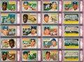 Baseball Cards:Sets, 1956 Topps Baseball High Grade Complete Set (340) Plus BothChecklist Cards. ...