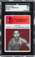 Basketball Cards:Singles (Pre-1970), 1961 Fleer Wilt Chamberlain #8 SGC 86 NM+ 7.5....