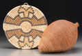 American Indian Art:Baskets, Two Southwest Basketry Items. ... (Total: 2 )