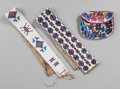 American Indian Art:Beadwork and Quillwork, Three Great Lakes / Blackfoot Beaded Items. ... (Total: 3 )