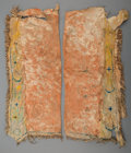 American Indian Art:Beadwork and Quillwork, A Pair of Plains Painted Hide Leggings . c. 1890...