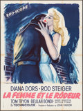 "Movie Posters:Crime, The Unholy Wife (RKO, 1957). French Grande (46.5"" X 61""). Crime....."