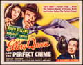 "Movie Posters:Mystery, Ellery Queen and the Perfect Crime (Columbia, 1941). Half Sheet (22"" X 28""). Mystery.. ..."