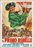 "Movie Posters:Action, Allegheny Uprising (RKO, R-1962). Italian 4 - Fogli (55.25"" X77.75""). Action.. ..."