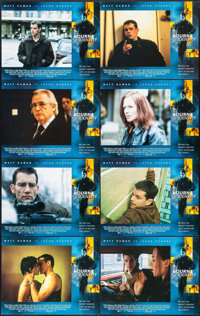 """The Bourne Identity (Universal, 2002). International Lobby Card Set of 8 (11"""" X 14""""). Action. ... (Total: 8 It..."""