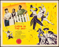 "Cabin in the Sky (MGM, 1943). Lobby Card (11"" X 14""). Musical"