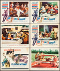 """Movie Posters:Elvis Presley, Flaming Star & Others Lot (20th Century Fox, 1960). Title LobbyCard & Lobby Cards (10) (11"""" X 14""""). Elvis Presley.. ...(Total: 11 Items)"""