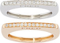 Estate Jewelry:Rings, Diamond, Gold Rings, Fred. ...