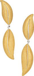 Estate Jewelry:Earrings, Gold Earrings, Buccellati. ...