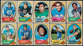 Football Cards:Sets, 1970 Topps Football Complete Set (263). ...