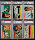 Baseball Cards:Sets, 1956 Topps Baseball Partial Set (124). ...