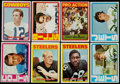 Football Cards:Sets, 1972 Topps Football Low and Middle Series (#'s 1-263) Near Set (262/263) With Extra Staubach Rookie. ...