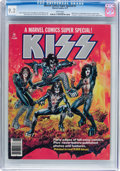 Magazines:Miscellaneous, Marvel Comics Super Special #1 KISS (Marvel, 1977) CGC NM- 9.2White pages....