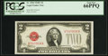Small Size:Legal Tender Notes, Fr. 1504 $2 1928C Legal Tender Note. PCGS Gem New 66PPQ.. ...