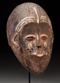 Tribal Art, Kete / Lulua: A Rare Semi-helmet Mask from the Area between TheseTwo Peoples...