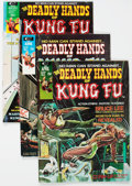 Magazines:Miscellaneous, The Deadly Hands of Kung Fu Group of 12 (Marvel, 1974-75)Condition: Average VF+.... (Total: 12 Comic Books)