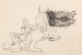 Animation Art:Production Drawing, The Steeple Chase Mickey Mouse Animation Drawing (WaltDisney, 1933). ...