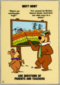 Animation Art:Presentation Cel, Yogi Bear and Boo-Boo Publicity Cel and Print (Hanna-Barbera,1984).... (Total: 2 )