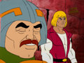 Animation Art:Production Cel, He-Man (Man-At-Arms) Production Cel (Filmation, 1983). ...