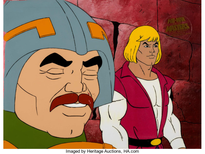 He-Man (Man-At-Arms) Production Cel (Filmation, 1983)      | Lot