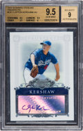 Baseball Cards:Singles (1970-Now), 2006 Bowman Sterling Prospects Clayton Kershaw #BSP-CK BGS Gem Mint9.5, 9 Autograph. ...