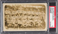 Baseball Cards:Singles (Pre-1930), 1915 Boston Red Sox with Rookie Babe Ruth Real Photo Postcard PSA VG 3....