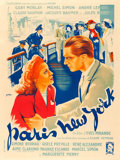 "Movie Posters:Foreign, Paris New York (Filmsonor, 1940). French Grande (47"" X 63"").. ..."