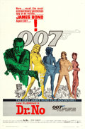 "Movie Posters:James Bond, Dr. No (United Artists, 1962). One Sheet (27"" X 41"") White SmokeStyle, Mitchell Hooks Artwork.. ..."