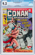 Bronze Age (1970-1979):Adventure, Conan the Barbarian #3 (Marvel, 1971) CGC NM- 9.2 Off-white to white pages....