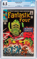 Silver Age (1956-1969):Superhero, Fantastic Four #49 (Marvel, 1966) CGC VF+ 8.5 Off-white to...