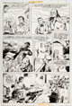 Dick Ayers and Alfredo Alcala Freedom Fighters #12 Page 5 Original Art (DC, 1978)