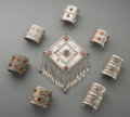 Tribal Art, An Eight-Piece Pakistani Jewelry Group... (Total: 8 Items)