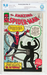 The Amazing Spider-Man #3 (Marvel, 1963) CBCS VF/NM 9.0 White pages