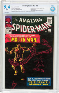 The Amazing Spider-Man #28 (Marvel, 1965) CBCS NM 9.4 White pages