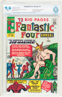 Fantastic Four Annual #1 (Marvel, 1963) CBCS NM+ 9.6 White pages